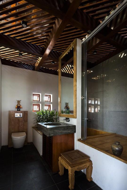 Ngất ngây với ngôi nhà 3 tầng đậm chất kiến trúc Nhật Bản - Ảnh 8.