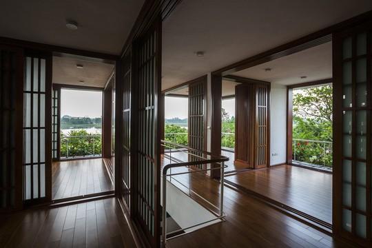 Ngất ngây với ngôi nhà 3 tầng đậm chất kiến trúc Nhật Bản - Ảnh 12.