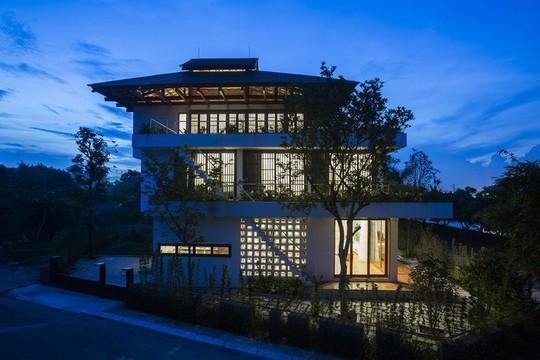 Ngất ngây với ngôi nhà 3 tầng đậm chất kiến trúc Nhật Bản - Ảnh 13.