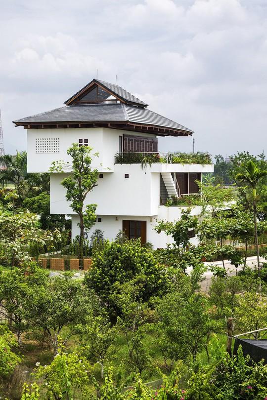 Ngất ngây với ngôi nhà 3 tầng đậm chất kiến trúc Nhật Bản - Ảnh 2.