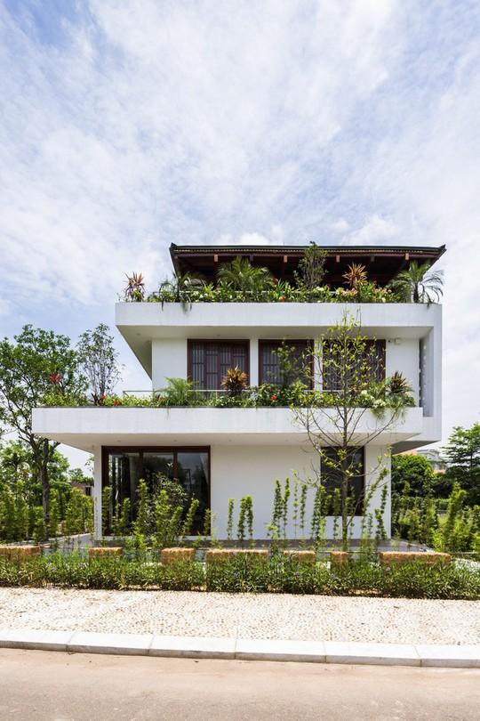 Ngất ngây với ngôi nhà 3 tầng đậm chất kiến trúc Nhật Bản - Ảnh 3.