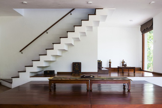 Ngất ngây với ngôi nhà 3 tầng đậm chất kiến trúc Nhật Bản - Ảnh 5.
