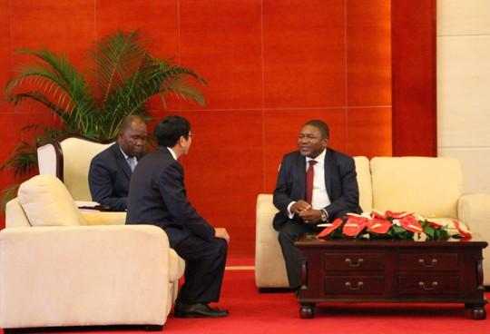 Cận cảnh Đại sứ Việt Nam trình Quốc thư lên Tổng thống Mozambique - Ảnh 4.