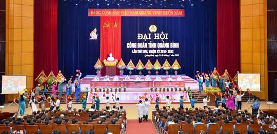 Ông Nguyễn Lương Bình tái đắc cử Chủ tịch LĐLĐ tỉnh Quảng Bình - ảnh 2