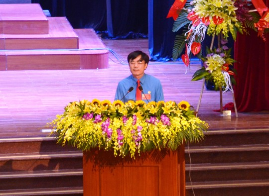 Ông Nguyễn Lương Bình tái đắc cử Chủ tịch LĐLĐ tỉnh Quảng Bình - Ảnh 1.