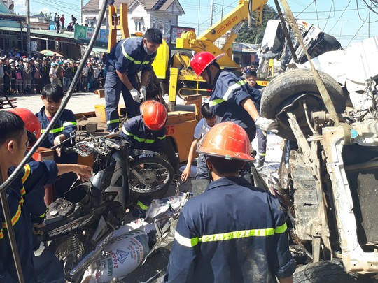 Vụ tai nạn thảm khốc khiến 5 người chết, xe tải không mất thắng - ảnh 3