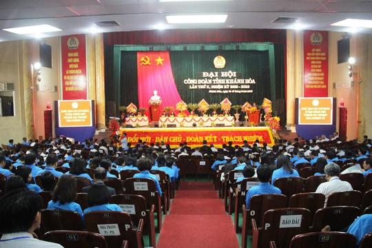 Ông Nguyễn Hòa tái đắc cử chức Chủ tịch LĐLĐ tỉnh Khánh Hòa - ảnh 5