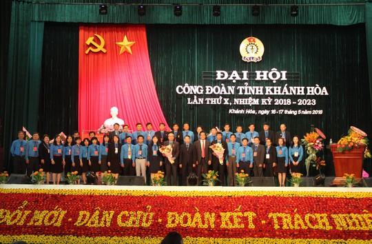 Ông Nguyễn Hòa tái đắc cử chức Chủ tịch LĐLĐ tỉnh Khánh Hòa - ảnh 1