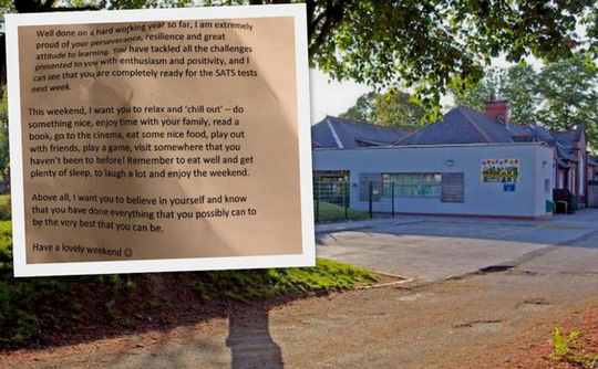 Lá thư tan chảy của hiệu trưởng gửi học trò trước mùa thi - ảnh 1