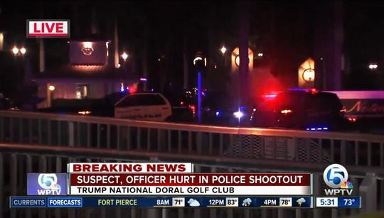 Nổ súng tại khu nghỉ dưỡng của ông Trump - Ảnh 1.