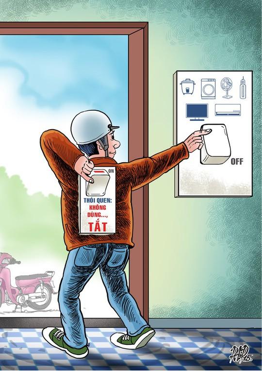 EVN: Tiết kiệm điện, hạn chế tình trạng hoá đơn tăng đột biến - Ảnh 1.