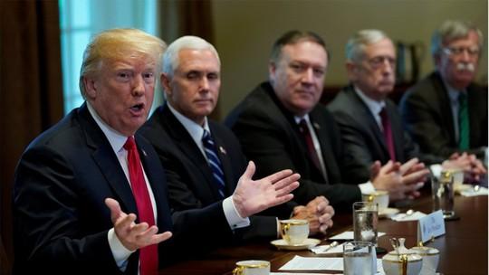 Ông Trump: Triều Tiên dọa hủy họp vì ông Tập - Ảnh 1.