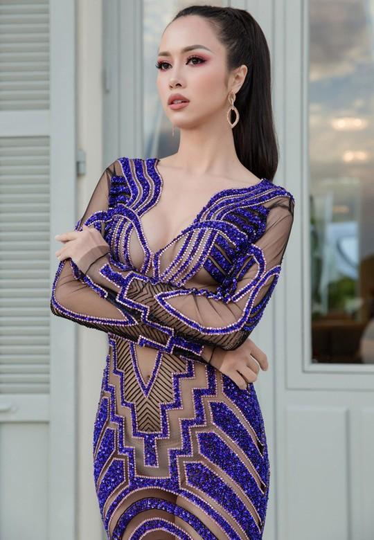 Vũ Ngọc Anh mặc váy mỏng tang ở LHP Cannes - Ảnh 5.