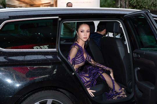 Vũ Ngọc Anh mặc váy mỏng tang ở LHP Cannes - Ảnh 3.
