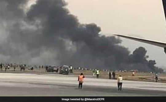 Máy bay chở hơn 100 người rơi và phát nổ ở Cuba - Ảnh 2.