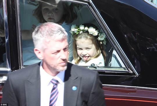 Công chúa Charlotte làm tan chảy trái tim khách mời trong đám cưới hoàng gia - Ảnh 3.
