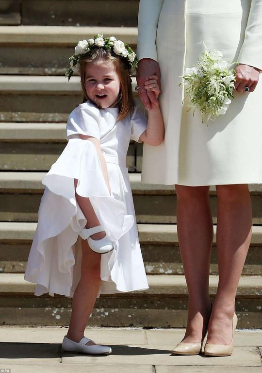 Công chúa Charlotte làm tan chảy trái tim khách mời trong đám cưới hoàng gia - Ảnh 5.