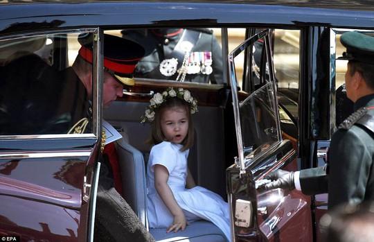 Công chúa Charlotte làm tan chảy trái tim khách mời trong đám cưới hoàng gia - Ảnh 8.