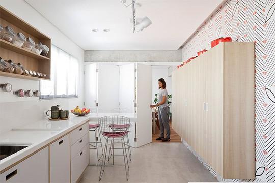 Cải tạo nhà theo hướng tích hợp các phòng - Ảnh 16.
