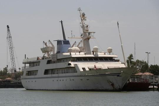 Siêu du thuyền của ông Saddam Hussein và số phận không ai ngờ - Ảnh 1.