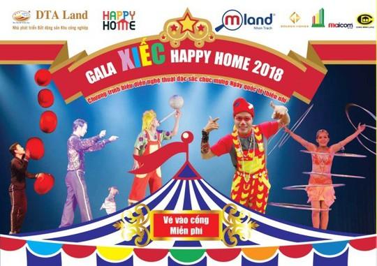 MLAND Vietnam tổ chức Gala Xiếc Happy Home 2018 dành cho thiếu nhi Đồng Nai - Ảnh 1.
