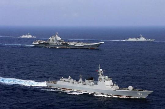 Có đối đầu nghiêm trọng giữa tàu chiến Mỹ và Trung Quốc? - Ảnh 1.