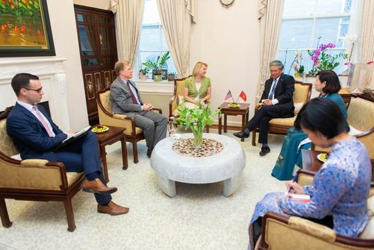 Lầu Năm Góc dùng tiêu binh đón tiếp Đại sứ Việt Nam - Ảnh 10.