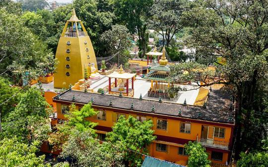Chùa có tượng Phật bằng tóc người lớn nhất Việt Nam - Ảnh 4.