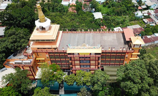 Chùa có tượng Phật bằng tóc người lớn nhất Việt Nam - Ảnh 7.