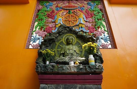 Chùa có tượng Phật bằng tóc người lớn nhất Việt Nam - Ảnh 11.