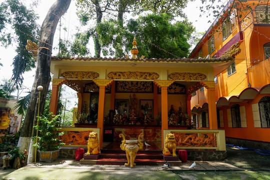 Chùa có tượng Phật bằng tóc người lớn nhất Việt Nam - Ảnh 2.