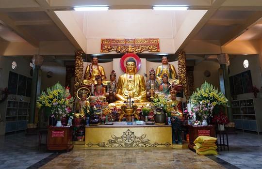 Chùa có tượng Phật bằng tóc người lớn nhất Việt Nam - Ảnh 5.