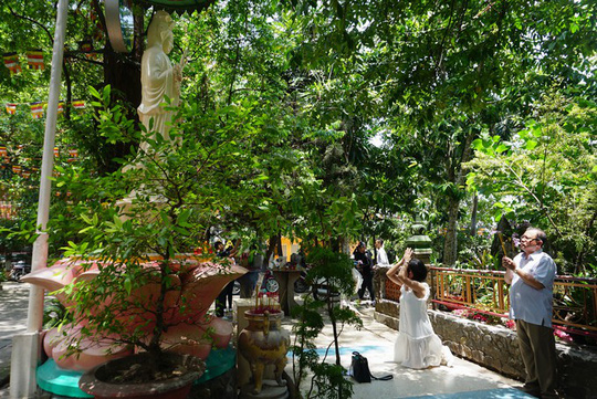 Chùa có tượng Phật bằng tóc người lớn nhất Việt Nam - Ảnh 12.