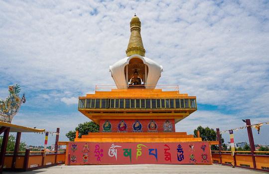 Chùa có tượng Phật bằng tóc người lớn nhất Việt Nam - Ảnh 10.