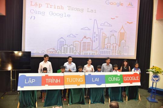 Google chắp cánh sáng tạo với dự án Lập trình tương lai cho trẻ - Ảnh 1.