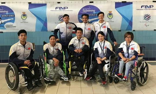 Bơi lội người khuyết tật giành 36 chuẩn Asian Paragames - Ảnh 1.