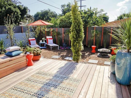 10 mẫu hàng rào đẹp, tiết kiệm chi phí cho khu vườn nhà bạn - Ảnh 4.