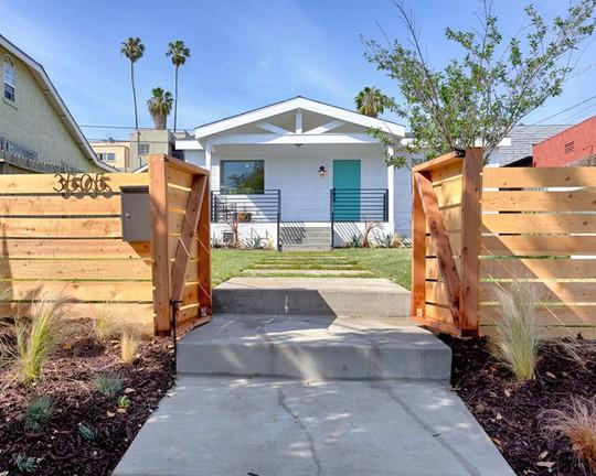 10 mẫu hàng rào đẹp, tiết kiệm chi phí cho khu vườn nhà bạn - Ảnh 6.