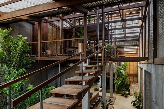Dùng tấm tôn làm vật liệu chính, ngôi nhà vẫn quá đẹp - Ảnh 5.