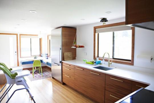 Phòng bếp tuyệt đẹp dành cho người yêu nấu nướng - Ảnh 2.