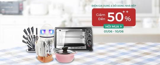 Điện gia dụng, đồ dùng nhà bếp, mỹ phẩm giảm đến 50% tại hago.me - Ảnh 2.