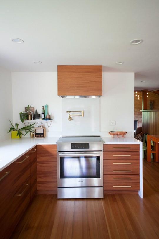 Phòng bếp tuyệt đẹp dành cho người yêu nấu nướng - Ảnh 4.