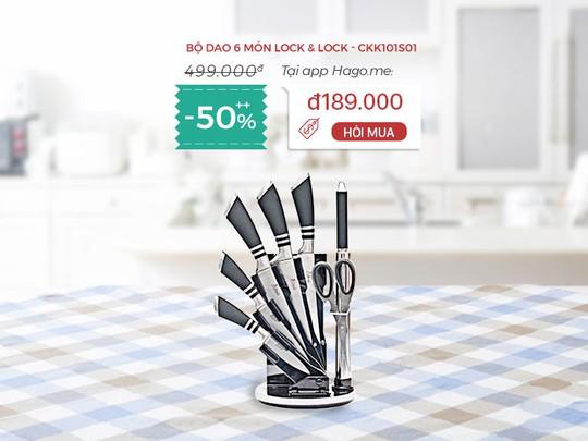 Điện gia dụng, đồ dùng nhà bếp, mỹ phẩm giảm đến 50% tại hago.me - Ảnh 4.