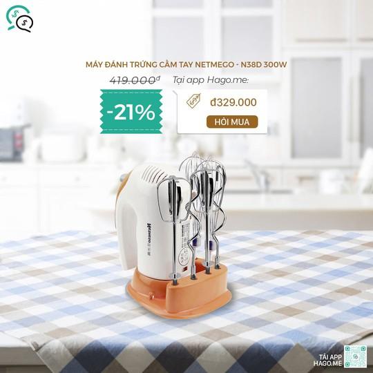 Điện gia dụng, đồ dùng nhà bếp, mỹ phẩm giảm đến 50% tại hago.me - Ảnh 5.