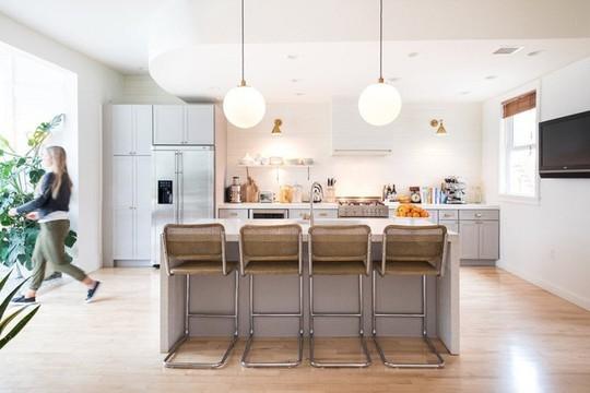 Phòng bếp tuyệt đẹp dành cho người yêu nấu nướng - Ảnh 9.