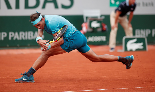 Thắng trắng chung kết, Nadal lần thứ 11 lên ngôi vương Roland Garros - Ảnh 1.