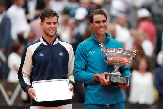 Thắng trắng chung kết, Nadal lần thứ 11 lên ngôi vương Roland Garros - Ảnh 4.