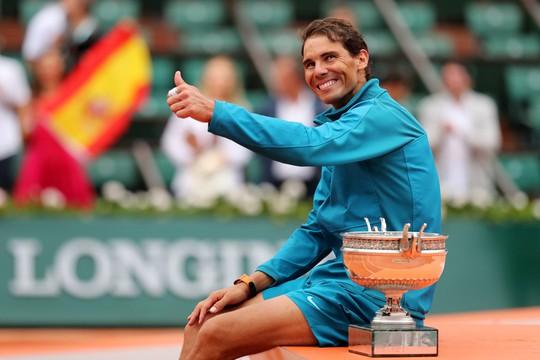Thắng trắng chung kết, Nadal lần thứ 11 lên ngôi vương Roland Garros - Ảnh 6.
