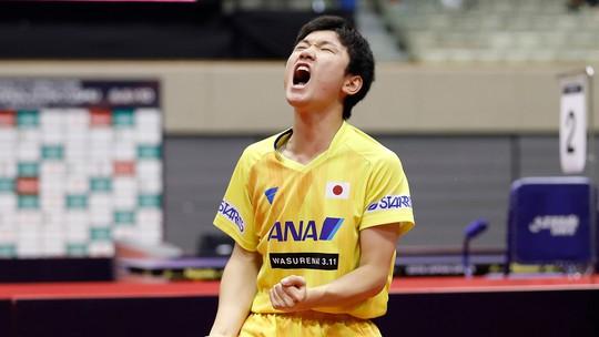 2 nhà vô địch Trung Quốc thua sốc thần đồng bóng bàn 14 tuổi Nhật Bản - Ảnh 5.