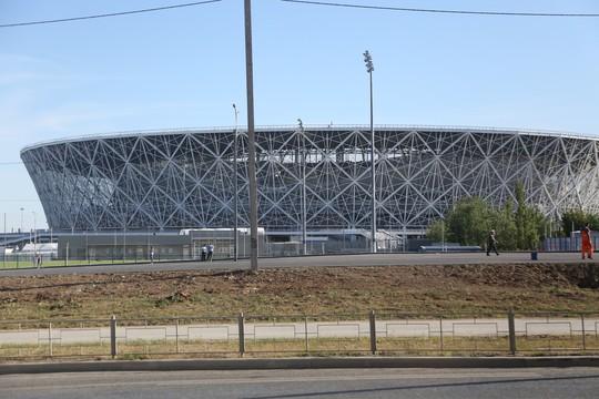 Thăm sân Volgograd trước World Cup - Ảnh 3.